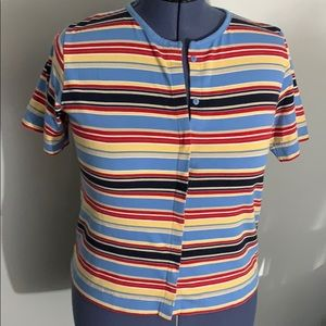 Mountain Lake Striped Top
